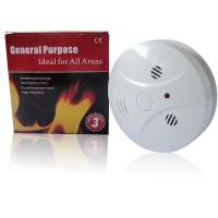 Wireless Round Photoelectric Smoke Detector System 20mA - 50mA Manufactures