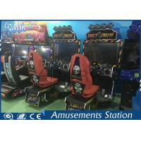 Playground Kid Games Equipment Racing Game Machine Dirty Drivin Simulator Manufactures