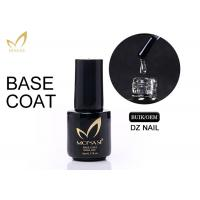 5 / 10 / 15ml UV LED Soak Off Base Coat For Gel Nails Non Toxic Low Smell Manufactures