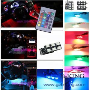 16-colors Car LED Interior Atmosphere Floor Decorative Light Manufactures