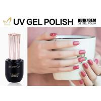 Nail Art Beauty 1 Step Gel Nail Polish , Easy Soak Off Matte Gel Nail Polish Manufactures