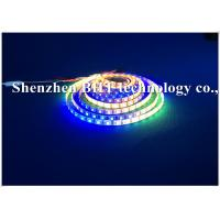 China SMD5050 RGB Rainbow 12v Waterproof Led Light Strips Full Color Changing Black Pcb on sale