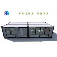 China Iso Flat Pack Prefab House , 40 Ft Prefab Shipping Container Homes Anti Impact on sale