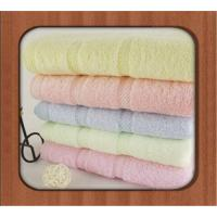 Bamboo fiber towel for home or hotel using bamboo face towel Manufactures