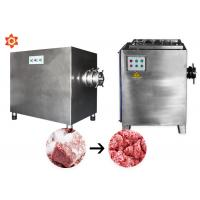 China 500kg/H Professional Meat Grinder Machine For Sausage Making 100mm Hole Cutter Diameter on sale