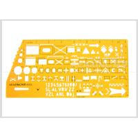 Kearing Brand Transparent yellow color military stencil  for operational command #8353 Manufactures