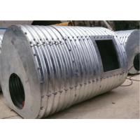 2.5m*2.1m Steel Culvert Underground with 150*50mm corrugation Manufactures