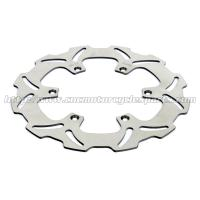 Quality Front Left Wave Motorcycle Brake Disc Disk , Light Weight Braking Wavy Discs for sale