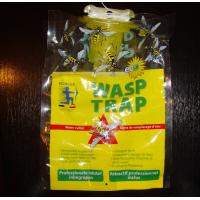 Eco-Friendly Disposable Hanging Fly Trap Wasp Trap bag with bait attractant Manufactures