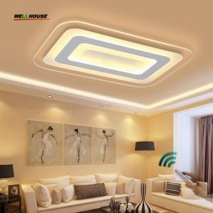 Quality Modern Led Ceiling Lights For Indoor Lighting plafon led Square Ceiling Lamp Fixture For Living Room Bedroom Lamparas De for sale