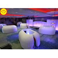 Customized Inflatable Structure Inflatable Office Pod Tent Mini Lighting For Decoration Manufactures