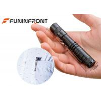 Quality Pocket Size CREE Led MINI Flashlight Torch with Belt Clip Using AAA Battery for sale