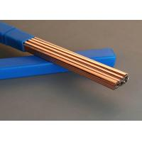 China High Tensile Soldering Copper Pipe , Cooling System Metal Brazing Rods on sale