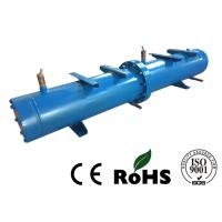 Long Life Horizontal Shell And Tube Condenser For Central Air Conditioning Manufactures