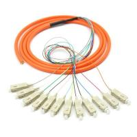 Singlemode ST LC optical fiber patch cord cables with CE / ROHS Approval Manufactures