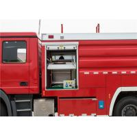 Water / Foam Monitor Airport Fire Truck Injection Span ≥11 Meters 6x6 Fire Truck Manufactures