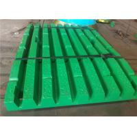 Manganese Steel Jaw Plate For Crusher With Sodium Silica Sand Process Manufactures