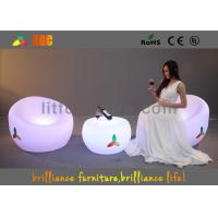 Quality Unbreakable LED Sofa chair , Remote control LED Lighting Furniture for sale