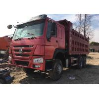 Sinotruck Howo 6x4 Heavy Duty Dump Truck Second Hand 20-30 Tons Loading Manufactures