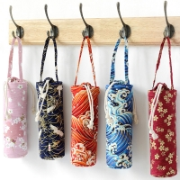 Portable Drawstring Cotton Insulated Bottle Sleeve Manufactures