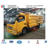 factory sale best price dongfeng  Small 4*2 airport Runway Sweepers, hot sale new dongfeng street sweeping vehicle Manufactures