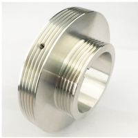 China Laser Cutting Micro V Pulley M3x0.5 Aluminum CNC Parts on sale