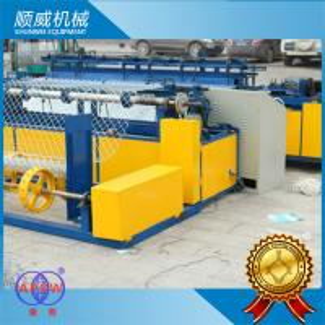 PVC Wire Chain Link Mesh Machine  CNC PLC Controller , Chain Link Fence Equipment Manufactures