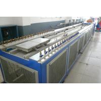 Twin Extruder Wood Plastic Extrusion Line SJSZ 92/188 Conical FOR WPC Door Manufactures