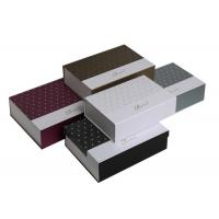 Quality Custom Magnetic Boxes Packaging , Cardboard Jewellery Boxes Matt Lamination for sale