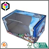 Plastic Window Corrugated Packaging Box; Custom Color Print Toy Packaging Box Manufactures