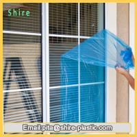 Residential Glass Door Protection Film , Glass Plastic Film Logo Printed Available Manufactures