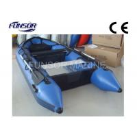 Heavy Duty Custom Marine Foldable Inflatable Boat Inflatable Dinghy With Motor Manufactures