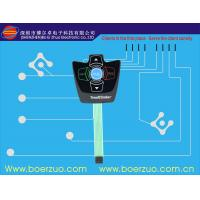 1.0 Mm Pitch Tactile Push Button Membrane Switch Panels Transparent Manufactures