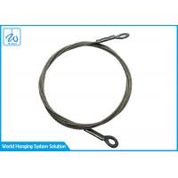China 7x19 High Tensile Wire Rope Rigging Equipment Slings Hanging Hardware With End Eyes on sale