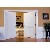 WPC Friendly Wood Composite Door Customized Color Unfinished Surface ROHS Approval Manufactures