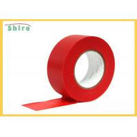 Red Stucco Masking Tape Uv Resistant Polyethylene Tape Outdoor Use Manufactures