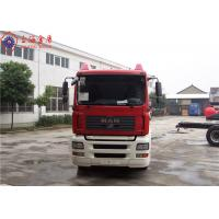 Quality Sinotruk HOWO MAN Chassis Water Tanker Fire Truck 265kw With Total Side Girder for sale