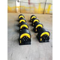 40 Ton Rotator Rollers PU Heavy Load Portable Easy Installation Budget 200mm Width Manufactures