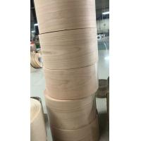 Quality Cherry Profile Wrap Veneer Rolls for Mouldings, Doors and Windows Industries for sale