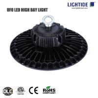 Lightide LED UFO High Bay Lights 150W, DLC/cETL/CE, 100-277VAC, 160 lm/W, 5 yrs warranty Manufactures