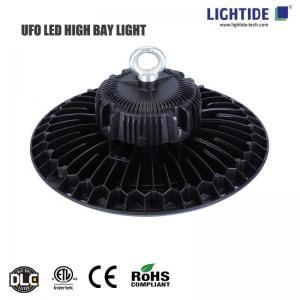 Lightide LED UFO High Bay Lights 150W, DLC/cETL/CE, 100-277VAC, 160 lm/W, 5 yrs warranty Manufactures