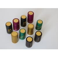 China Olive Oil Glass Heat Shrink Bottle Caps Gold Plating With Shrink Sleeve on sale