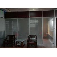 Quality Commercial Division Aluminium Office Partition With Single / Double Glazing for sale