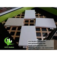 Architectural facade system Aluminium wall clad panels powder coated exterior use Manufactures