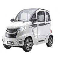 China wholesale mini four wheel  two seats middle steering EEC four wheel electric car for adults on sale