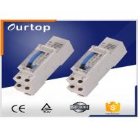 Din Rail Mechanical Timer Switch , 24 Hour Programmable Digital Timer Switch Manufactures