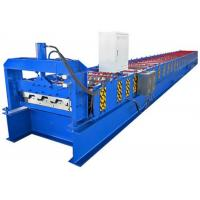 Buy cheap 380V Galvanized Steel Floor Deck Roll Forming Machine With 23 Rows Rollers from wholesalers