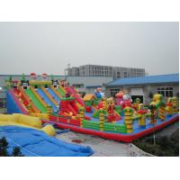 Fancy - Looking PVC Inflatable Water Toys Slide , Double Lane Inflatable Waterslides Manufactures