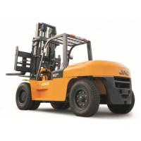 Heavy Machinery Counterbalance Diesel Forklift Truck 10 Ton Large Capacity Manufactures