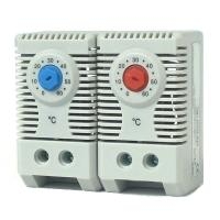 China KTO 011 / KTS 011 Room Thermostat Mechanical Temperature Switch Adjustable Controller on sale